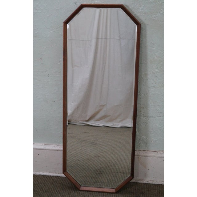 George Nelson for Herman Miller Walnut Frame Wall Mirrors - Pair - Image 10 of 10