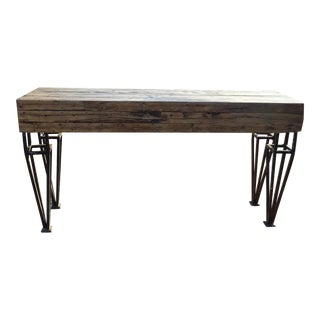 Reclaimed Barn Wood Oak Butcher Block