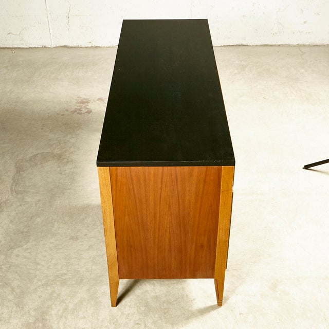 1960s 1960s Kent Coffey Walnut Tempo Desk For Sale - Image 5 of 9