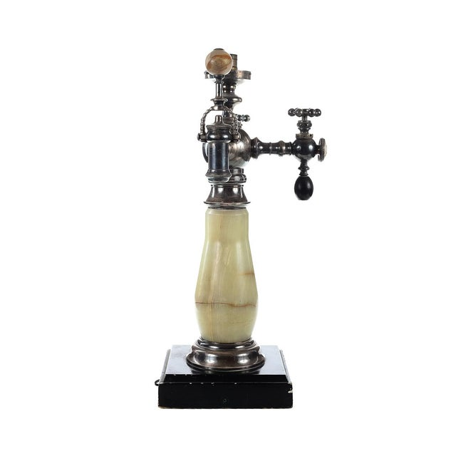 Robert M. Green & Sons Marble Soda Fountain Tap Stand - Image 4 of 9