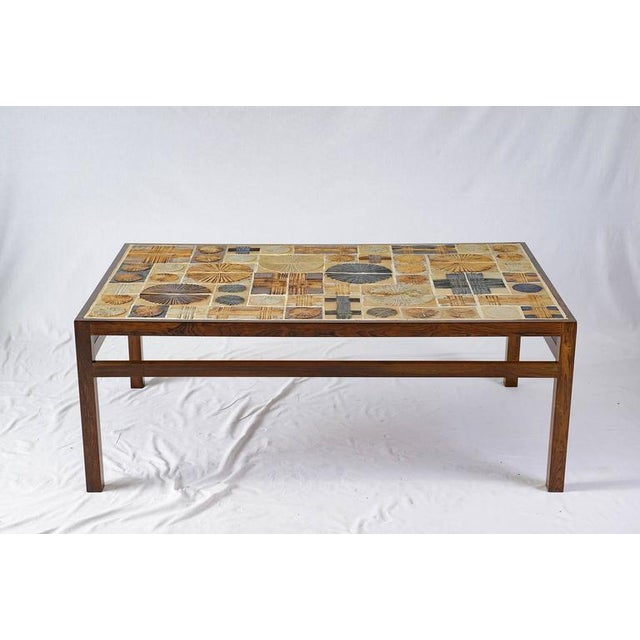 Tue Poulsen tile coffee table.