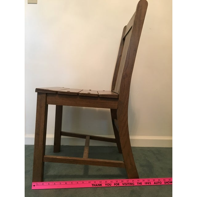 1969 Vintage Wooden Chair - Image 9 of 9