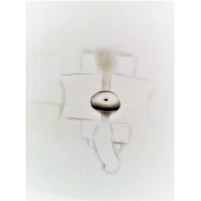 1970s Modern Abstract Cuban Graphite / Paper Art by Agustin Fernandez For Sale - Image 12 of 12