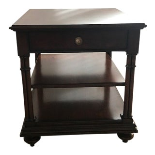 Traditional Stanley Furniture Arrondissement Vivant Side Table For Sale