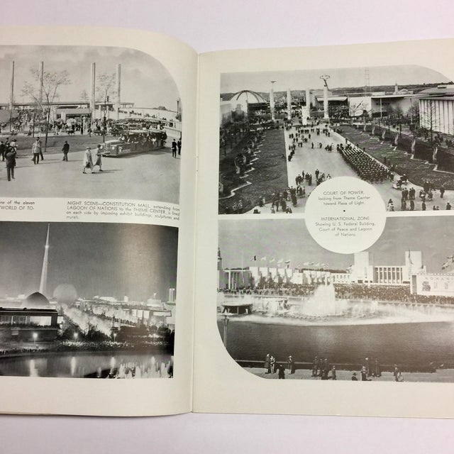 Art Deco 1939 New York World's Fair in Pictures Book For Sale - Image 3 of 12