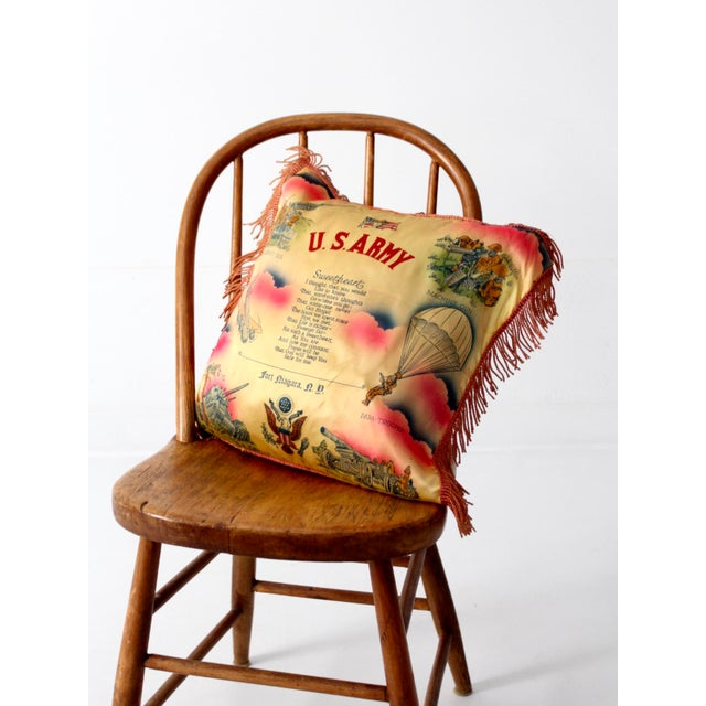 1940s US Army Souvenir Pillowcase - Image 5 of 7