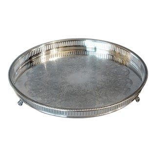 Bristol Silve Plate Tray For Sale