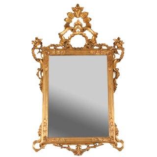 Vintage Baroque Style Wall Mirror