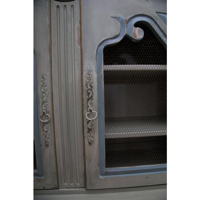 French Buffet De Corps, Later Painted For Sale In West Palm - Image 6 of 8