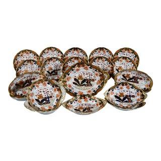 Regency Spode Porcelain Dessert Service For Sale