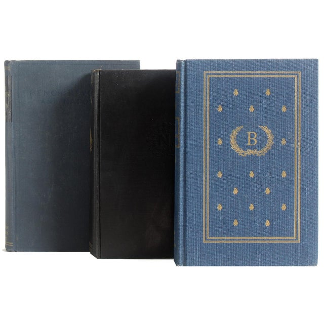 Napoleonic History in Midnight Blue - Set of 5 - Image 2 of 2