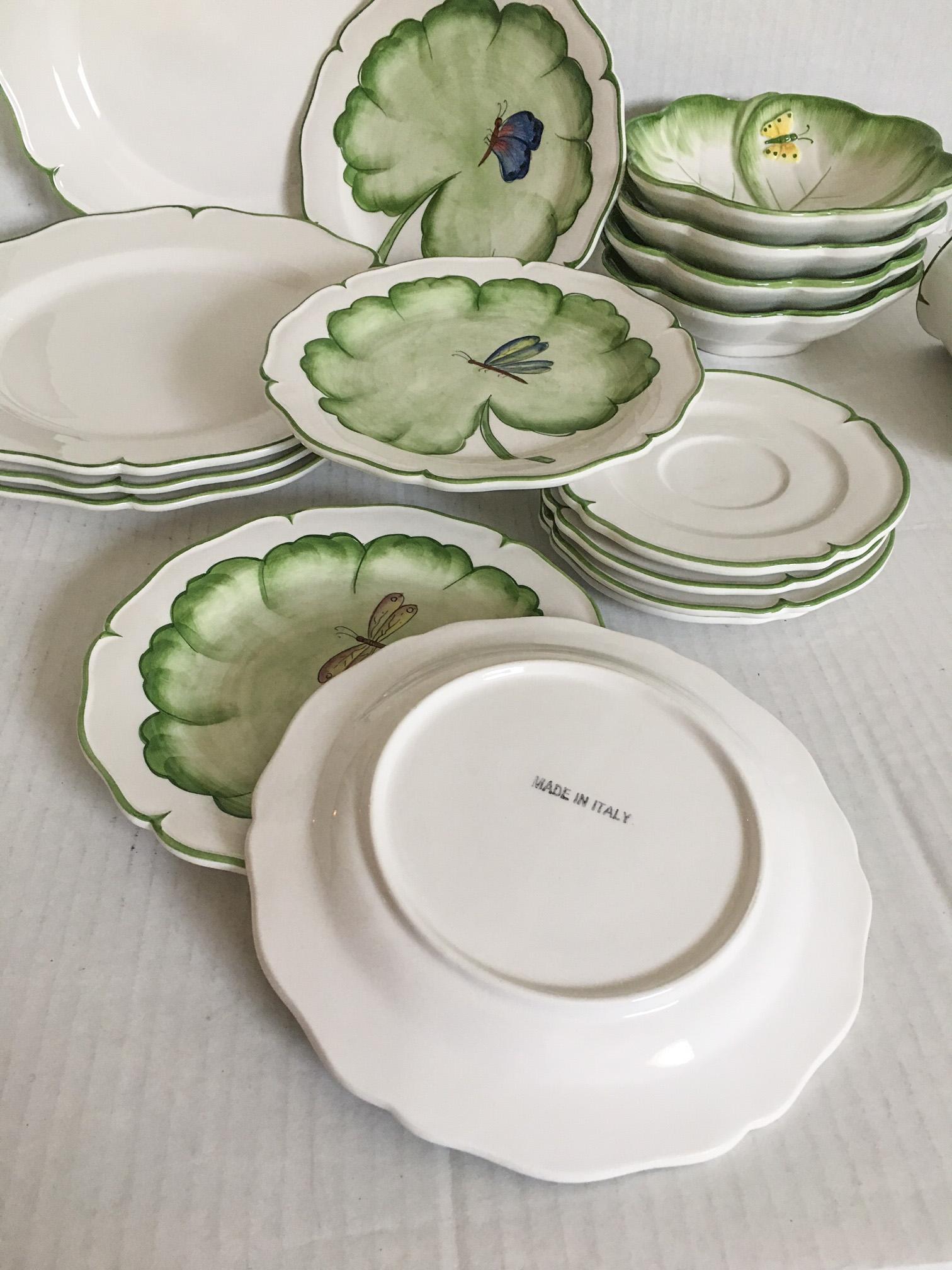 Anna Weatherley-Style Italian Dinnerware - Service for 4 - Image 8 of 8  sc 1 st  Chairish & Anna Weatherley-Style Italian Dinnerware - Service for 4   Chairish