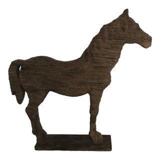 Decorative Horse Sculpture