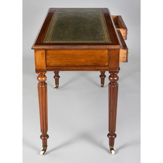 Metal Late Regency Mahogany Small Writing Table, Circa 1830 For Sale - Image 7 of 11