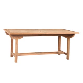 Outdoor Teak Dining Table For Sale