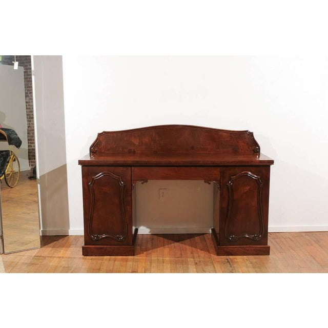 William IV Mahogany Pedestal Sideboard For Sale - Image 9 of 11