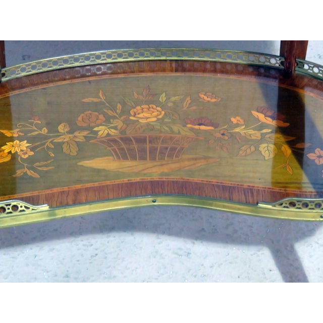 Louis XV Louis XV Style Accent Table Manner of Forest For Sale - Image 3 of 8