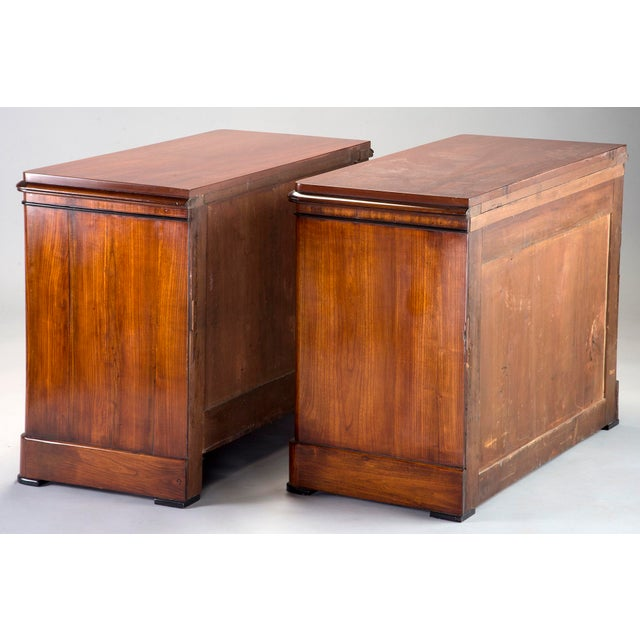 Pair Mahogany Chests With Black Detailing - Image 7 of 11