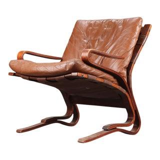 Danish Modern Bentwood 'skyline' Lounge Chair For Sale