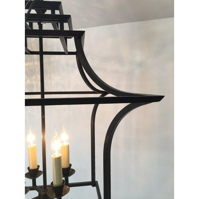 E.F. Chapman for Visual Comfort Brighton Pagoda Lantern Pendant - Image 4 of 8
