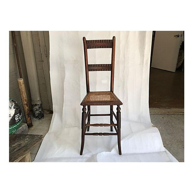English Childs Correction Chair Chairish