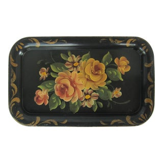 Autumn Tole Tray For Sale