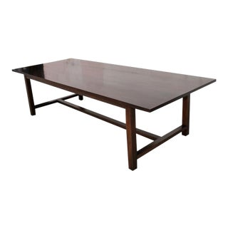 Petersen Antiques Black Walnut Dining Table For Sale
