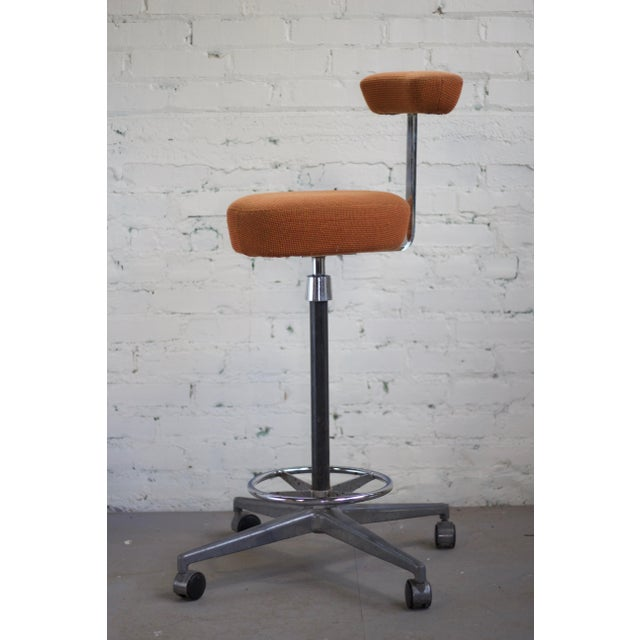 Chrome Herman Miller George Nelson Probst Perch Stool For Sale - Image 7 of 8