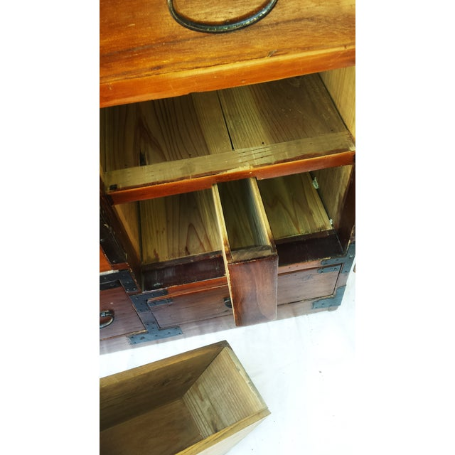 Korean Camphor Wood Cabinet - Image 8 of 11