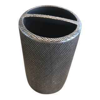 Kassatex Gray Mesh Toothbrush Holder For Sale
