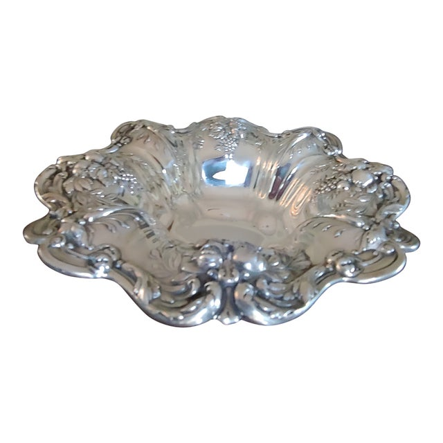 Reed and Barton Sterling Silver Serving Bowl For Sale