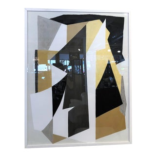 Mitchell Gold + Bob Williams Abstract I Wall Art Giclee in White Frame For Sale