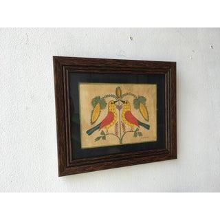 Mid 20th Century Folk Art Birds by Evelyn S Dubiel Preview