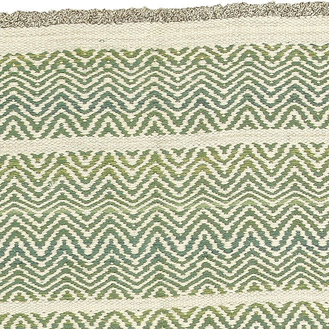 1940s Swedish Flat Weave Rug by AB Märta Måås-Fjetterström- 4′2″ × 6′1″ For Sale - Image 5 of 6