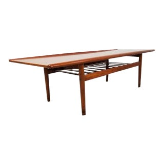 1960s Mid-Century Danish Coffee Table by Grete Jalk For Sale
