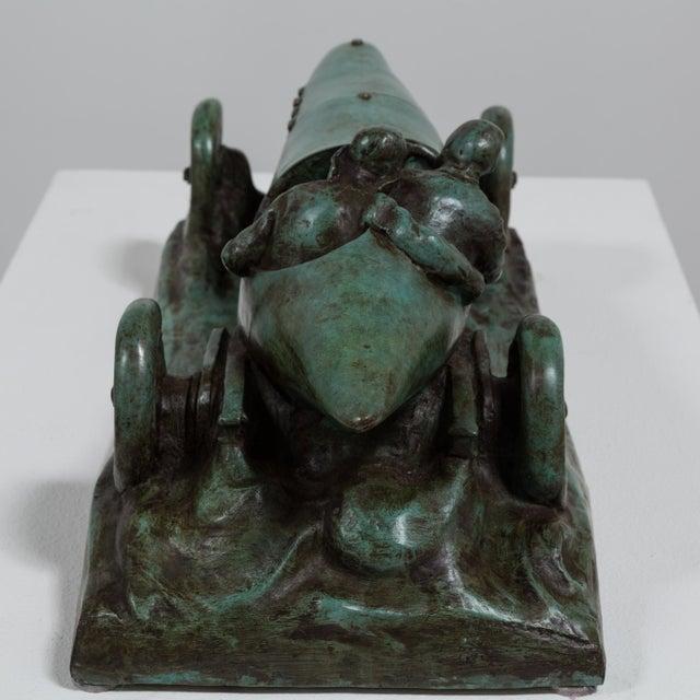 2000 - 2009 A Bronze Cast of a Mercedes Blitzen Benz by Talisman For Sale - Image 5 of 8
