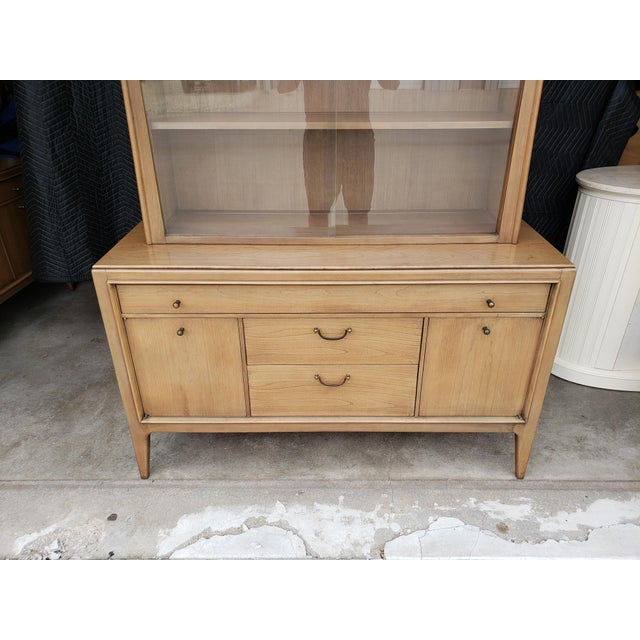 1960s Vintage 1960's Century Furniture China Cabinet For Sale - Image 5 of 10