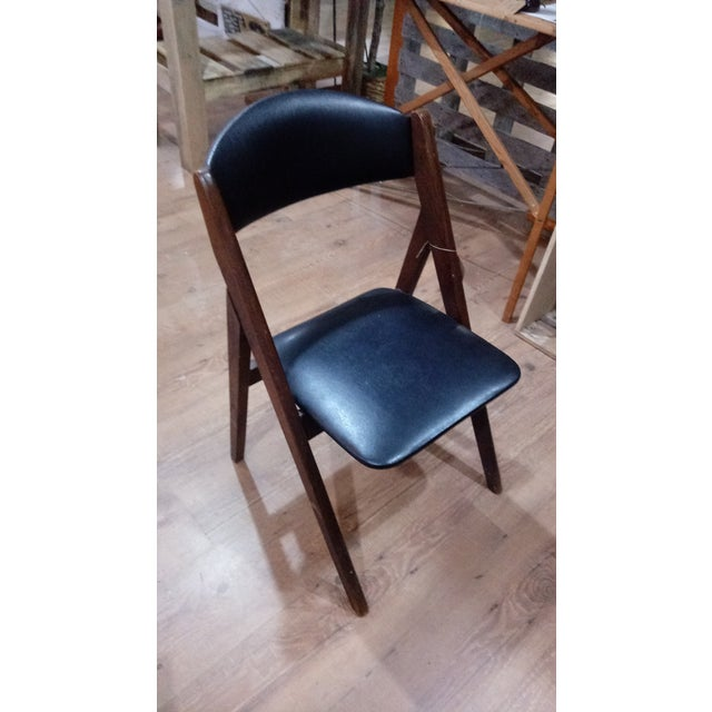 Stakmore Company 1960s Mid-Century Modern Stakmore Folding Chairs - Set of 4 For Sale - Image 4 of 6