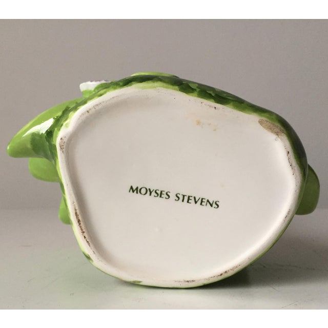 Hand-Painted Faience Tulip Vase-Moyses Stevens, London For Sale In New York - Image 6 of 8