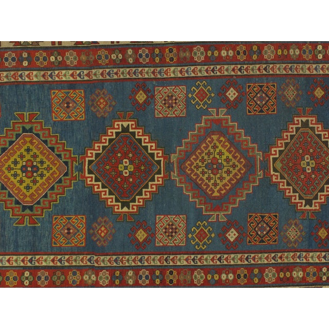 Antique Kazak Carpet - 5′2″ × 7′ - Image 4 of 6