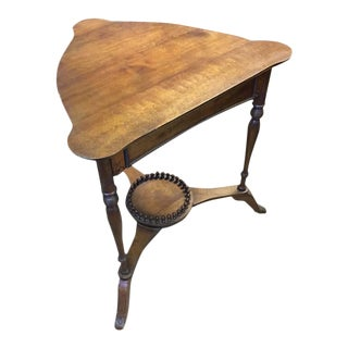 20th Century Victorian Style Corner Table For Sale