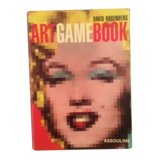 Art Game Book, by David Rosenberg, Published by Assouline For Sale