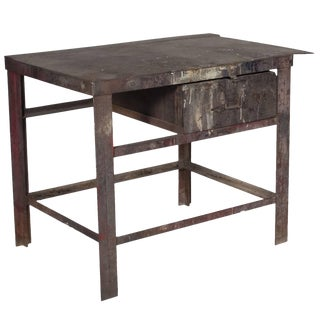 Industrial Workbench, Circa 1890 For Sale