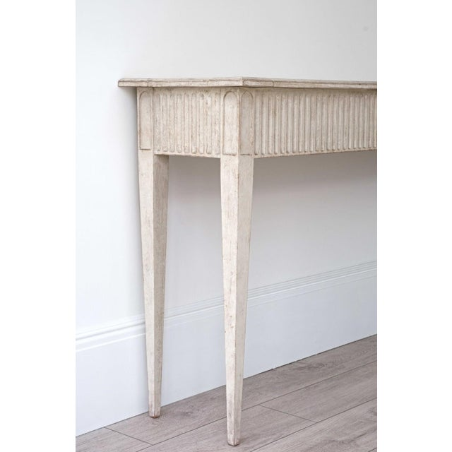 Birch Göran Swedish Console Table For Sale - Image 7 of 8