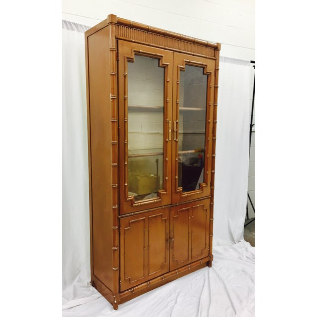 Vintage Chippendale Style China Cabinet - Image 10 of 10