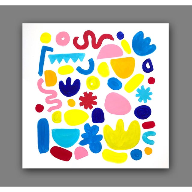 'Jubilation' Original Abstract Painting by Linnea Heide For Sale - Image 6 of 8