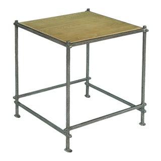 Sarreid Ltd. Mid-Century Modern End Table For Sale