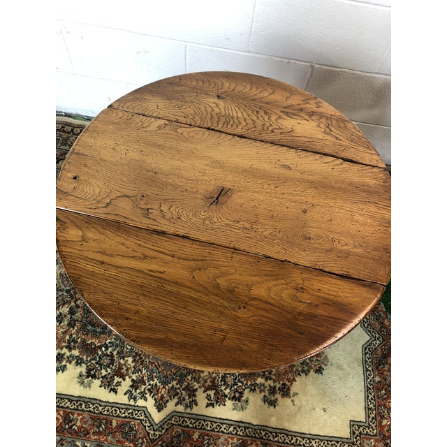 20th Century Folk Art Drop Leaf Table For Sale In Detroit - Image 6 of 11