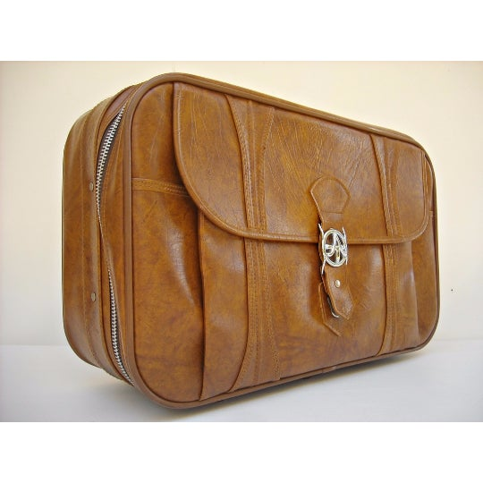 Mid-Century American Tourister Suitcase - Image 3 of 6