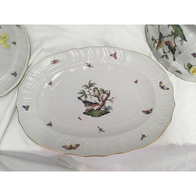 Herend Rothschild Tureen W/ Underplate For Sale - Image 9 of 13